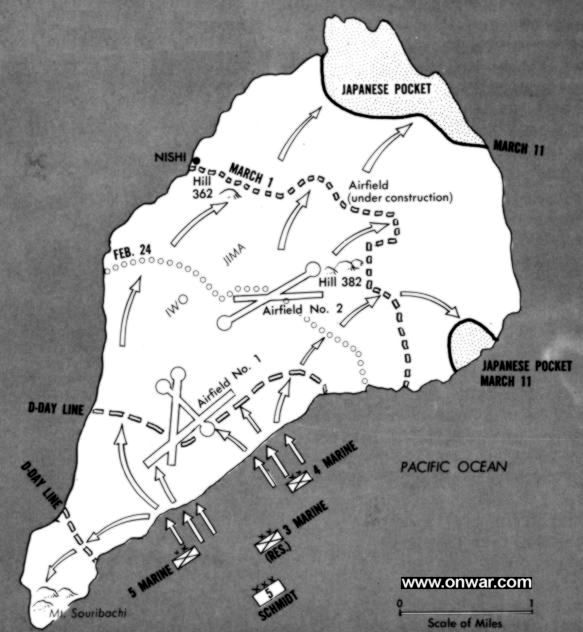 Tmp Iwo Jima Action Report 19 February To 26 March